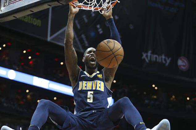 Denver Nuggets snap two-game slide, ends long run of futility in Atlanta