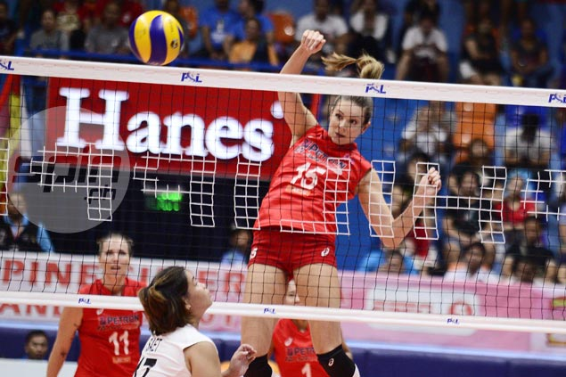 Petron fights back from a set down to turn back Cignal and stretch win run to three