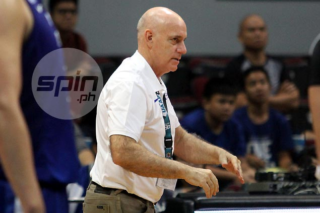 Tab Baldwin shrugs off talks on elims sweep, says unbeaten Blue Eagles far from perfect