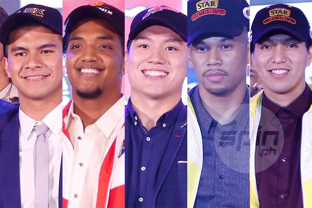 Ateneo, La Salle have most number of draftees in PBA Rookie Class of 2017. See LIST