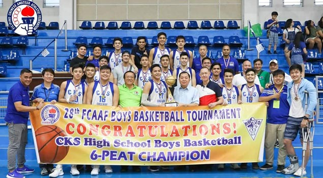 Chiang Kai Shek completes unbeaten run to Fil-Chinese amateur cage title