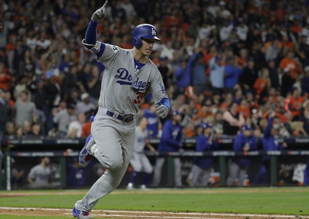 Rookie Cody Bellinger finally breaks out of slump and help Dodgers even World Series with Astros
