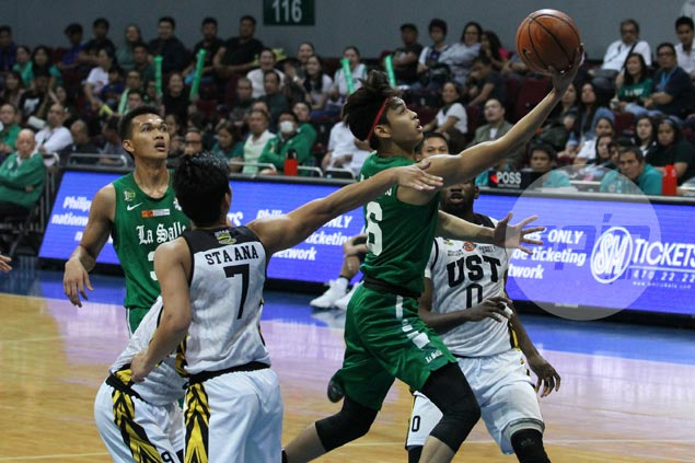 La Salle boosts bid for twice-to-beat advantage with 35-point drubbing of UST Tigers