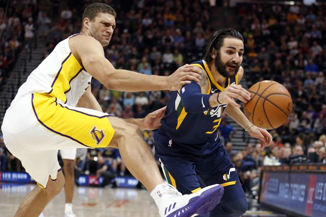 Jazz arrest two-game slide and deal Lakers second straight loss