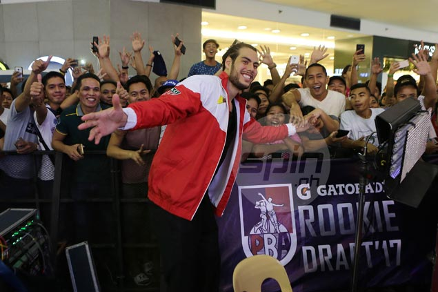 SMB draft pick Christian Standhardinger: 'I'm very committed to Gilas'