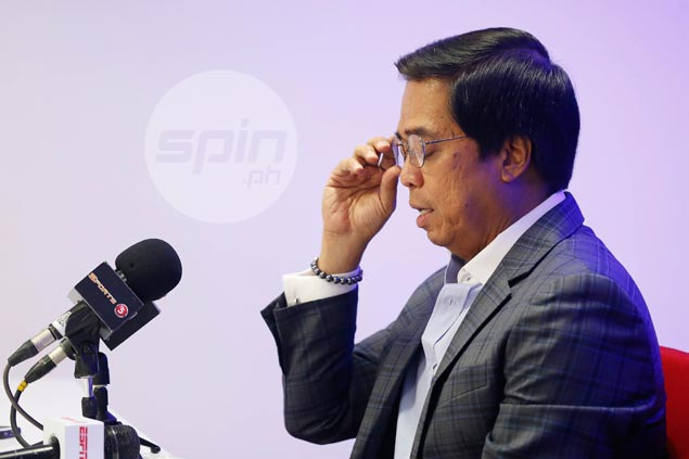 Majority bloc in PBA board moving to oust Commissioner Narvasa. Rumor or fact?
