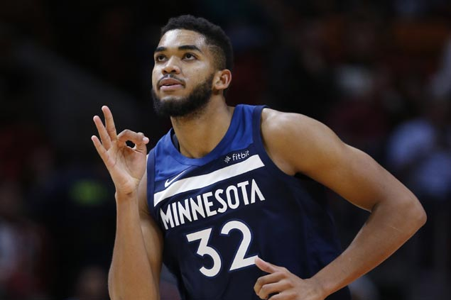 Timberwolves overcome Heat in overtime for second straight win