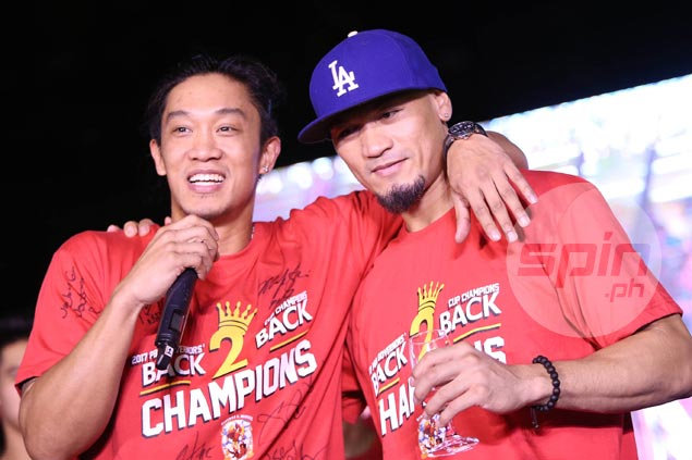 Emotional Caguioa says pal Helterbrand 'a point guard not only on court but in life as well'