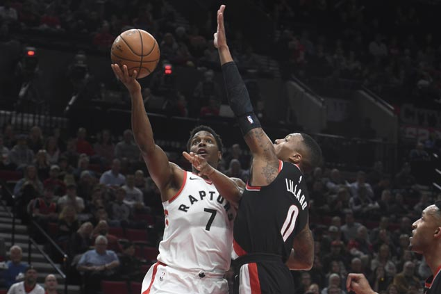 DeMar DeRozan, Kyle Lowry carry shorthanded Raptors to romp over Blazers