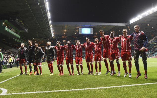 Bayern gains Champions League knockout stage with two games to spare