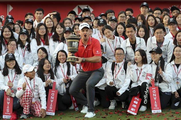 Justin Rose make it eight consecutive years with at least one victory