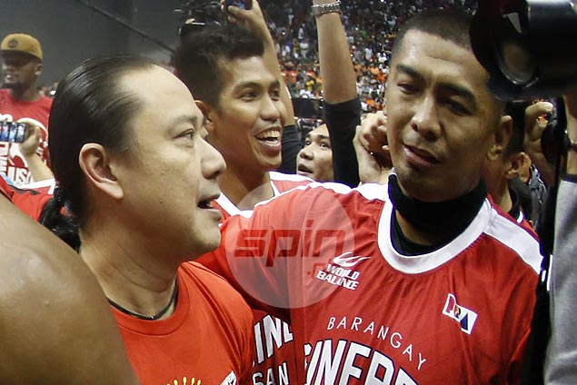 Raymond Aguilar hopes to be back for Ginebra as burly forward savors first ever PBA title
