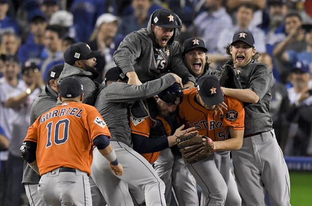 Astros clinch first World Series in franchise history after edging Dodgers in Game Seven