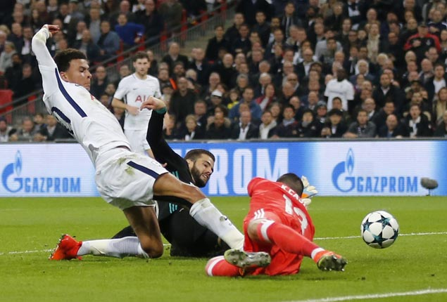 Spurs dominate Real Madrid to reach Champions League knockout stage