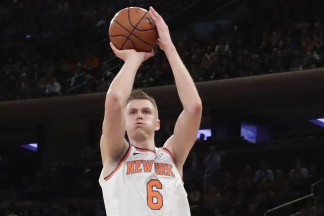 Knicks' new main man Kristaps Porzingis not satisfied with strong start to season