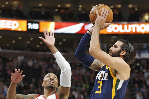 Ricky Rubio has season-high 30, rookie Donovan Mitchell delivers 28 as Jazz edge Blazers in OT