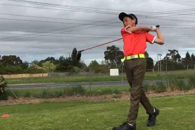 Daniel Nagayo tops Victoria Primary School golfest by four strokes