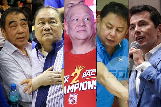 PBA team owners urged to step in, settle board standoff over Narvasa tenure