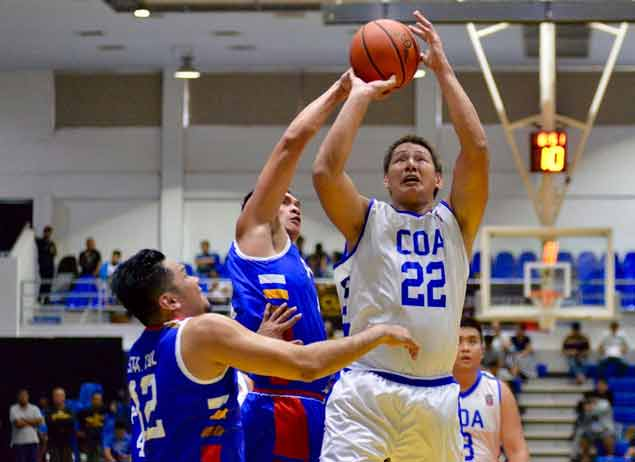 PNP, Malacanang put unblemished slates at stake against separate foes in UNTV Cup