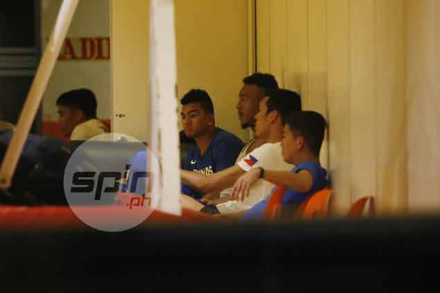 Divided PBA board stands united behind Gilas as Fajardo, Aguilar, Jalalon show up for practice