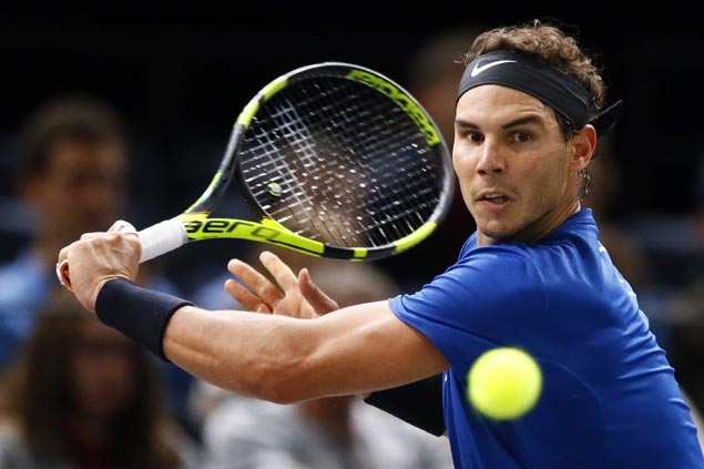 Rafael Nadal cruises to quarterfinals and remain on track in capturing elusive Paris Masters title