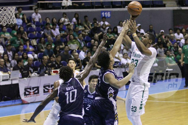 Green Archers stretch streak to six, push NU Bulldogs to the brink of elimination