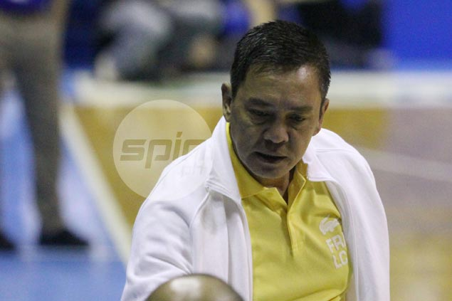 UST coach Boy Sablan says rebuilding process takes at least three years