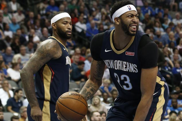 Sigh of relief for Pelicans with no structural damage on injured pelvic area for Anthony Davis