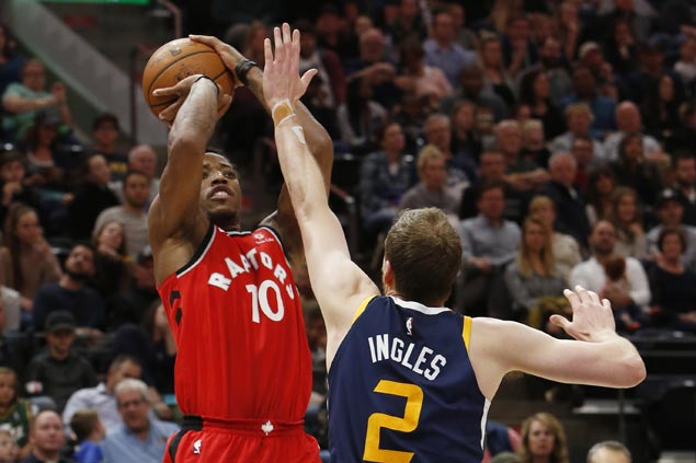DeMar DeRozan sparks huge third-quarter run as Raptors beat Jazz