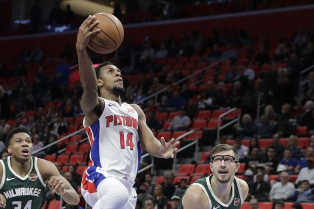 Pistons take charge in second half and hold on to deal Bucks third straight loss