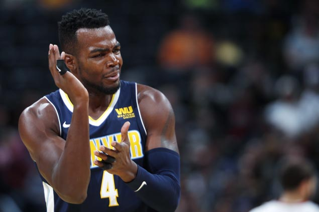 Paul Millsap steady from the stripe in endgame as Nuggets edge Heat