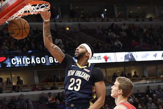 Boogie, Brow sustain double-double deliveries as Pelicans edge Bulls in OT