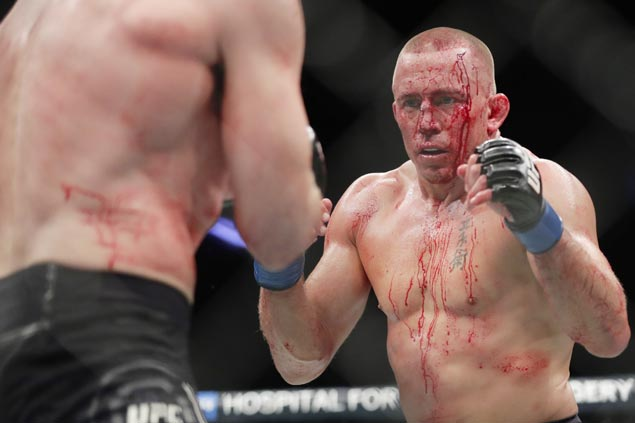 With its superstars idle, UFC gets needed blast from the past from Georges St. Pierre