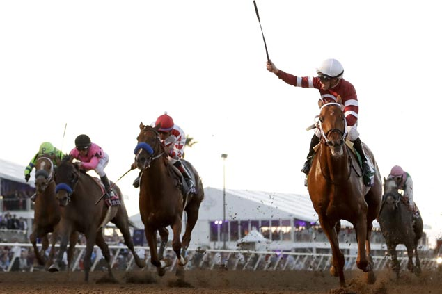Gun Runner tops Breeders' Cup Classic as Arrogate winds up in a dead-heat for fifth