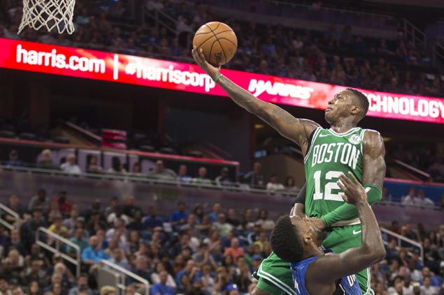Eight straight wins for Celtics with rout of cold-shooting Magic