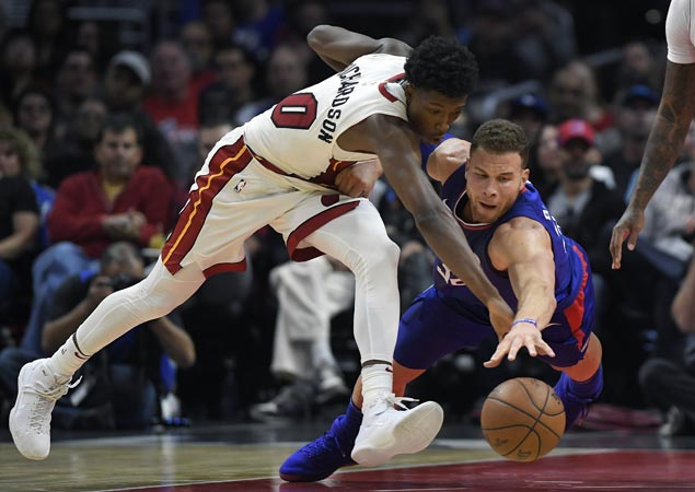 Heat squander 25-point lead but recover to beat Clippers