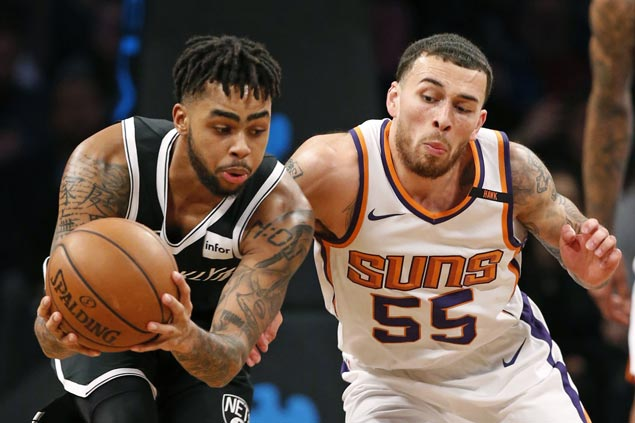 D'Angelo Russell shows way as Nets get back at Suns and snap four-game skid
