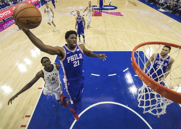 Sixers face tough task of keeping win streak alive as Joel Embiid sits out game against Jazz