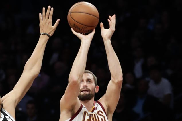 Kevin Love back after being hospitalized, eager to atone for Cavs' 'ugly' game against Hawks