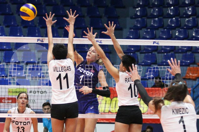 Foton Tornadoes too strong for Iriga side missing Grethcel Soltones in PSL Grand Prix