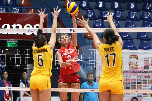 Cocolife downs UST in four sets to even record in Super Liga Grand Prix