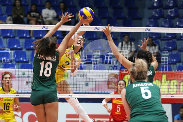 F2 Logistics wallops winless Sta. Lucia to cruise to second straight win in PSL Grand Prix