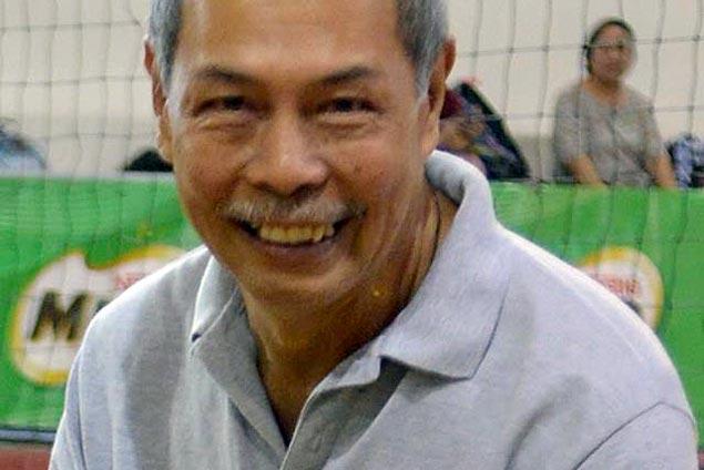 Legendary FEU volleyball coach Kid Santos dies aged 67