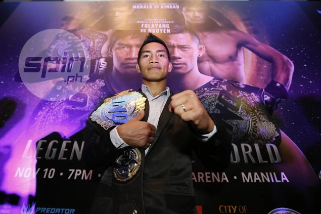 Eduard Folayang still fueled by underdog mentality ahead of champ vs champ clash