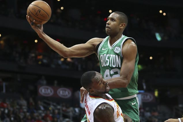 Streaking Celtics face Lakers without Al Horford due to possible concussion