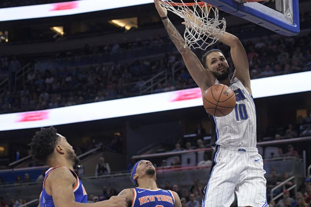 Magic ride second half surge to halt Porzingis-less Knicks three-game win run