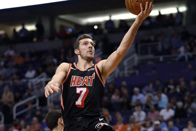 Goran Dragic torches former team with season-high 29 as Heat sizzles in romp over lowly Suns