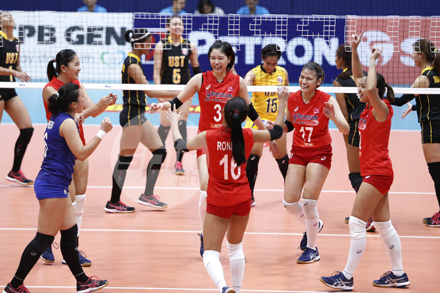 Petron proves too strong for UST Tigresses in three-set Super Liga romp