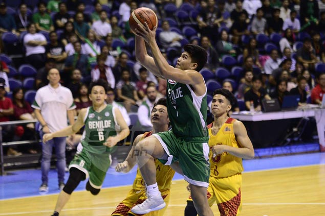 La Salle Greenhills edges Mapua in Game One of NCAA juniors basketball finals