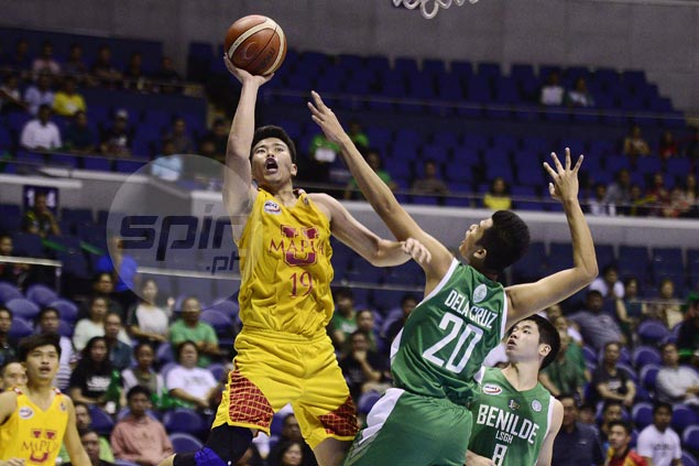Mapua's Will Gozum wins Most Valuable Player title of NCAA 93 juniors tournament